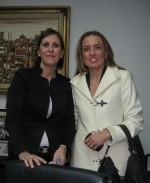 incontro con l'assessorato all'industria con il presidente del consiglio regionale Claudia Lombardo